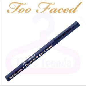 Too Faced•Sketch Marker Liq Art Eyeliner•Deep Navy